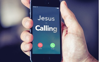 Jesus Calling cell phone