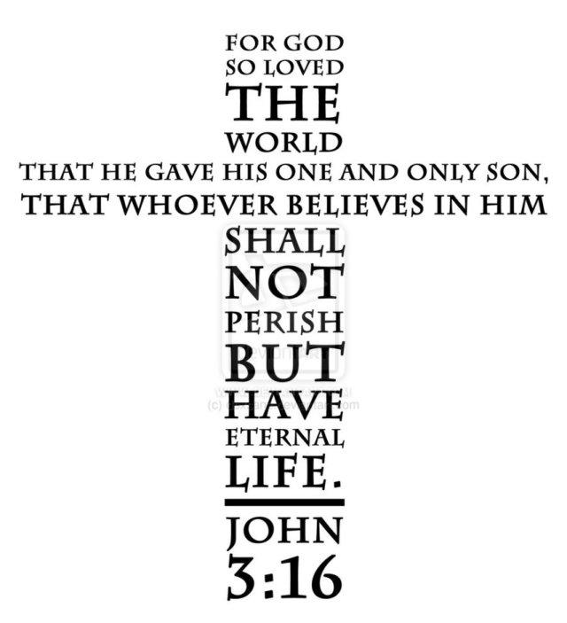 Cross John 3 16